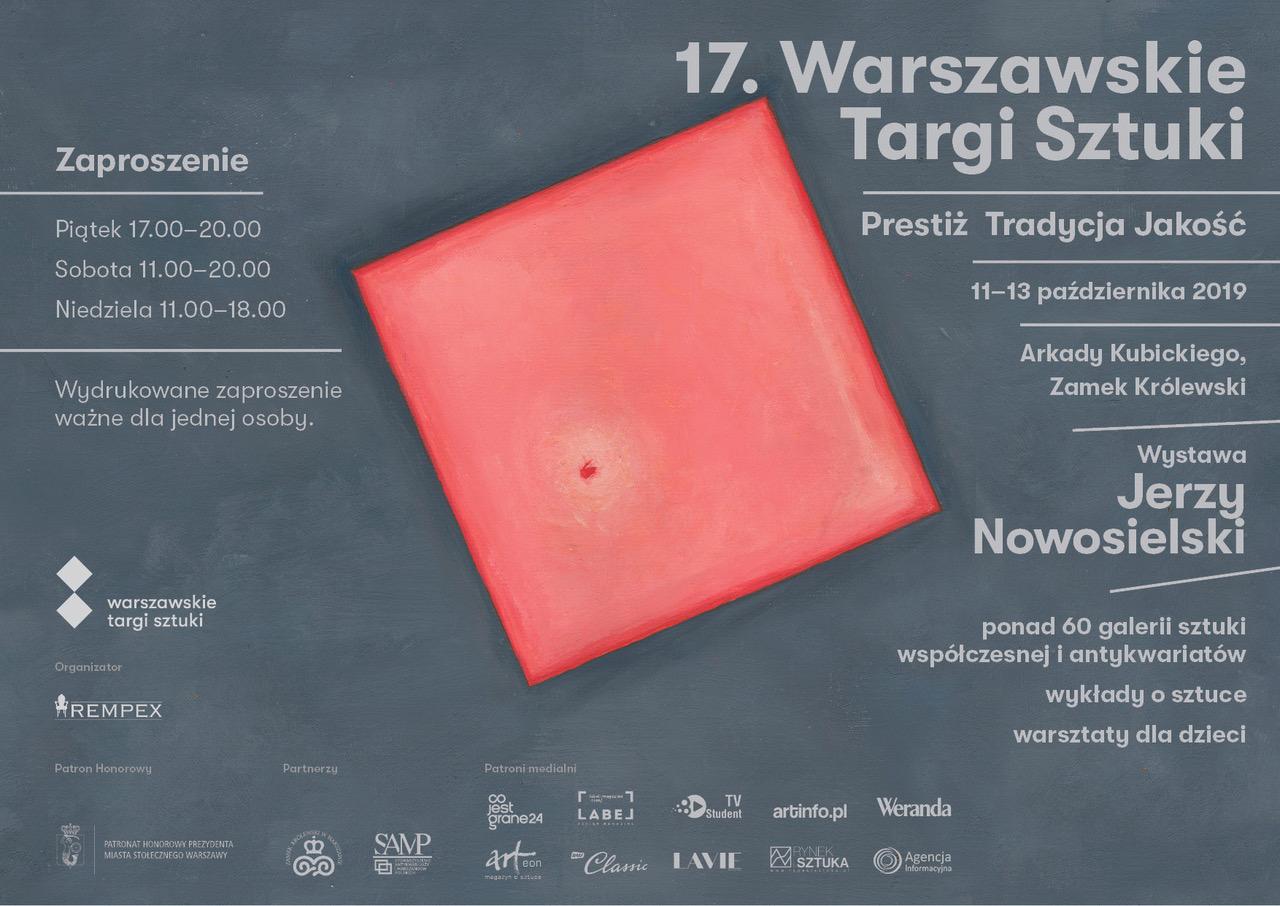 Galeria Arttrakt Zaproszenie na Targi Sztuki