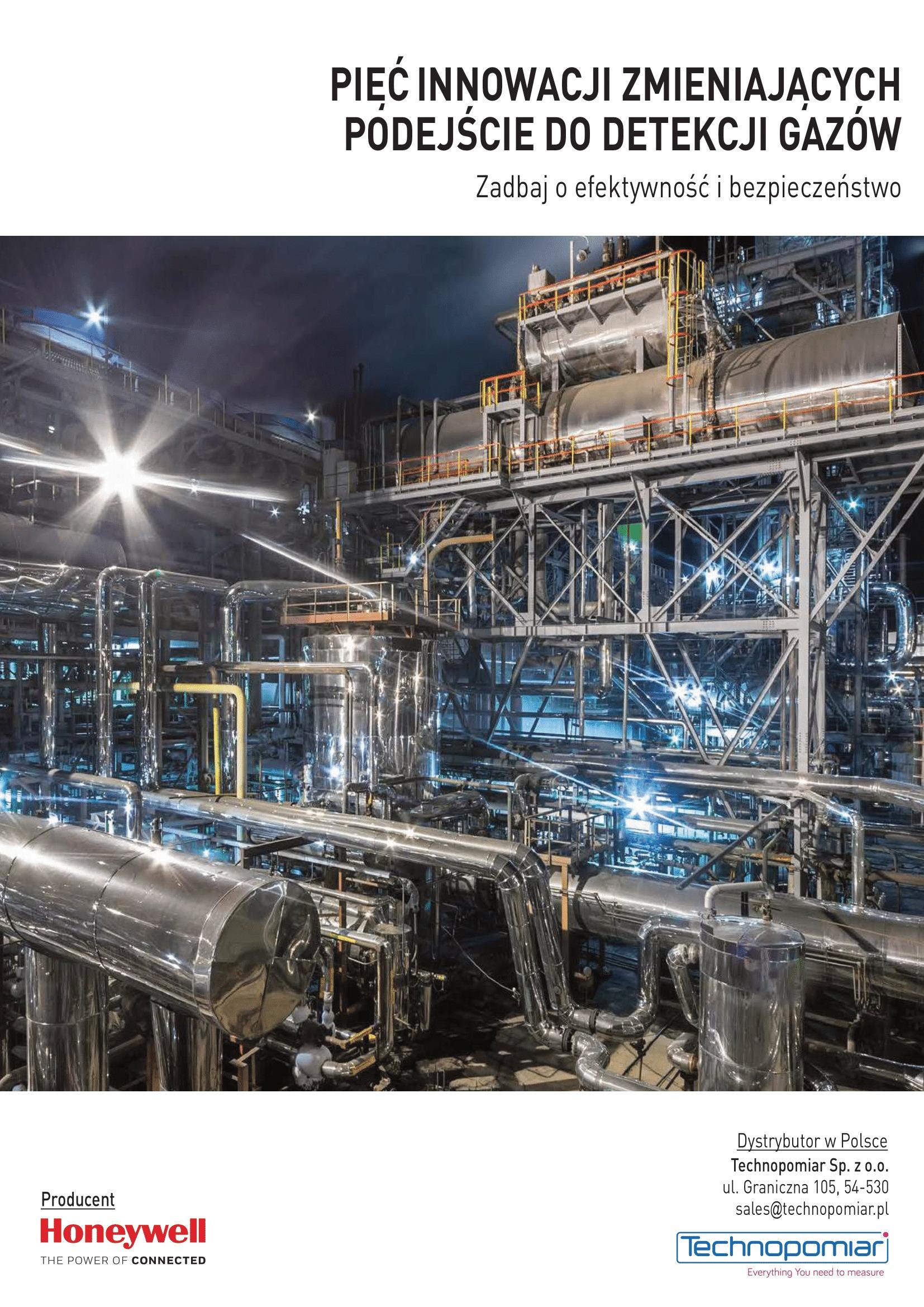 Detekcja gazów
