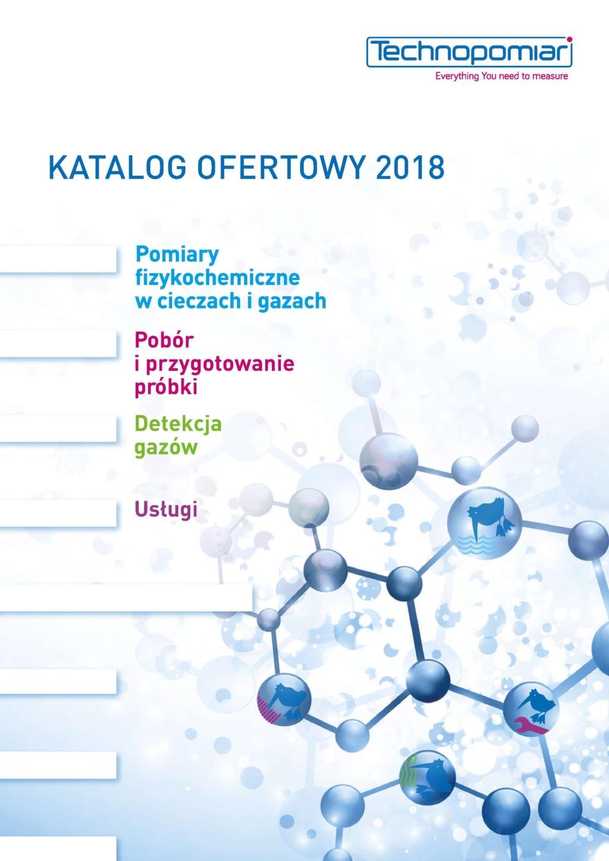 Katalog ofertowy Technopomiar 2018