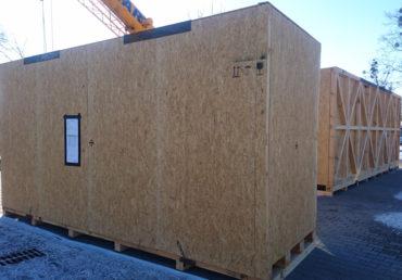 kontener realizacja i wysyłka